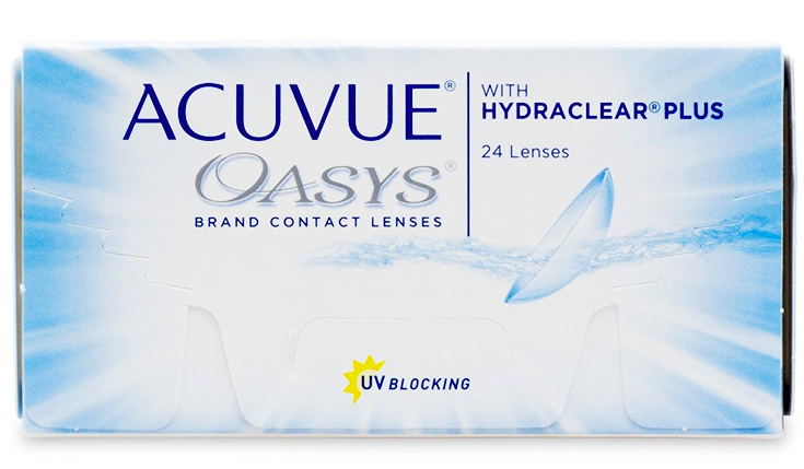 Acuvue Oasys 24 Pack Contact Lenses