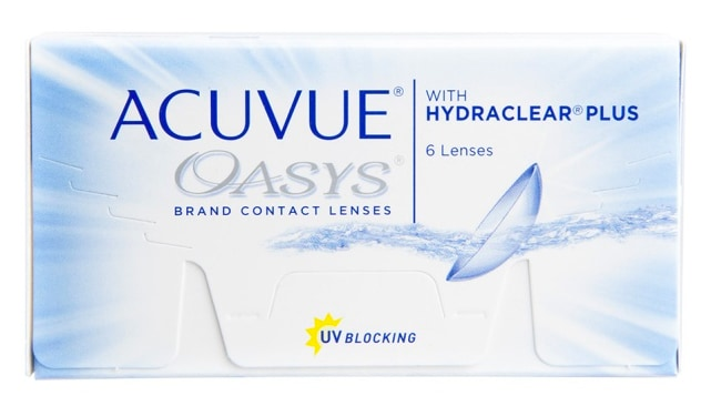Acuvue Oasys 6 Pack Contact Lenses