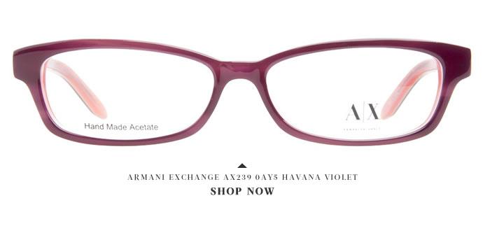 Armani Exchange Glasses: Glamorous Holidays