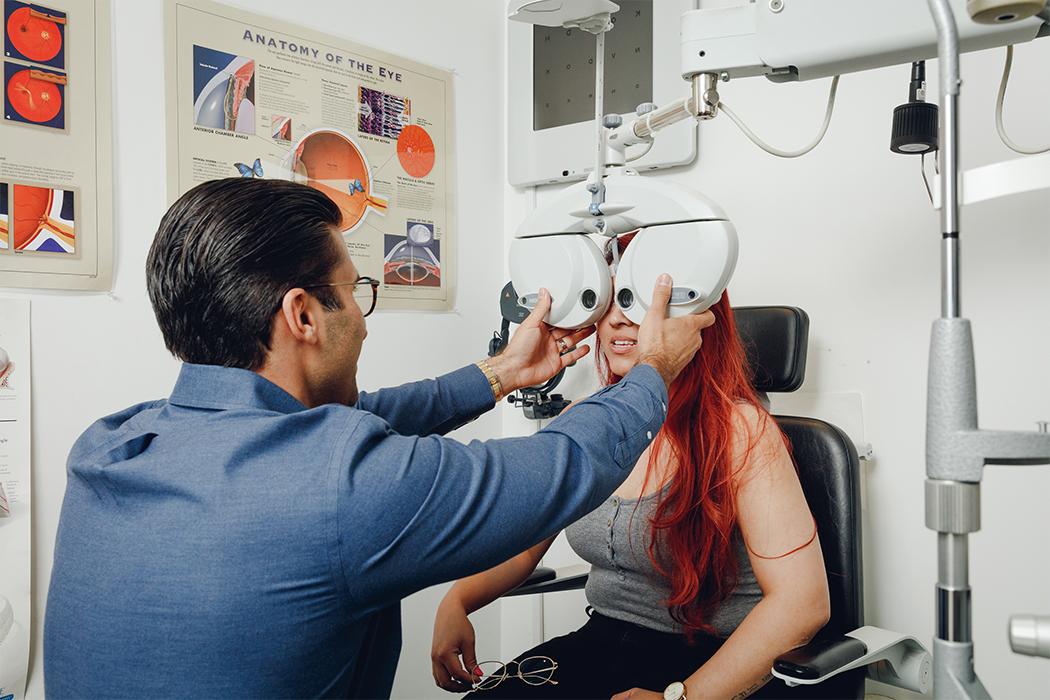 eye exams vancouver calgary toronto