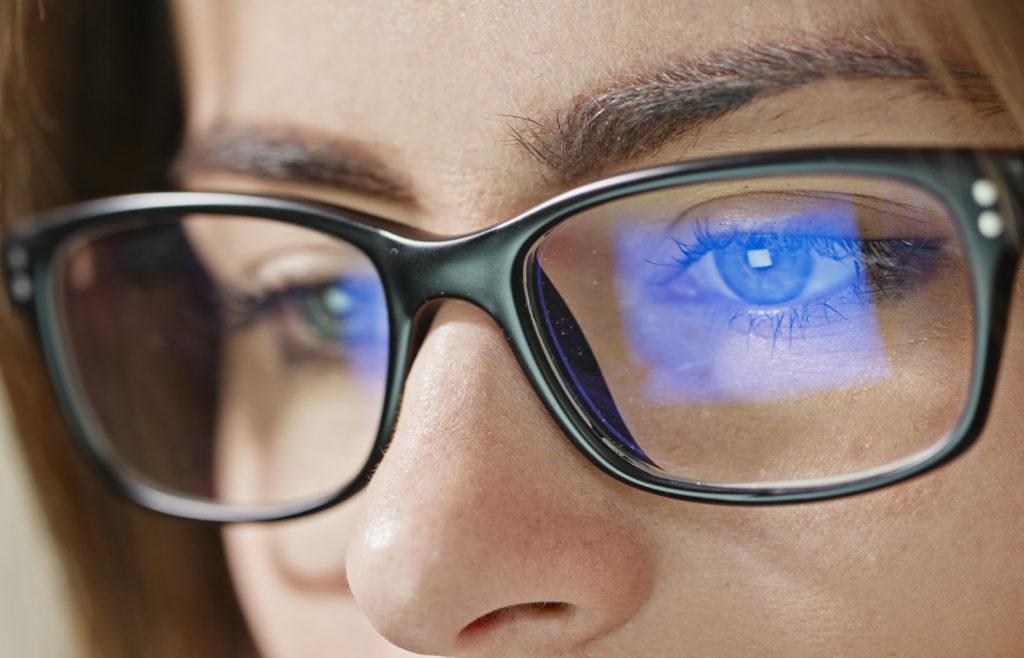 Blue Reflect Plus blue light blocking glasses